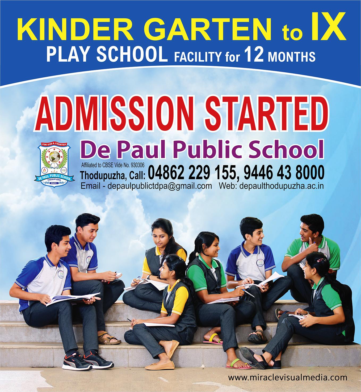 De Paul Public School-Thodupuzha